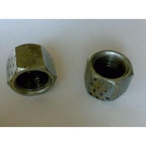 Гайка метан BRC 6 мм, длина 36 мм
